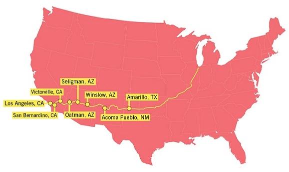 美国66号公路自驾游-领略美国小镇风情