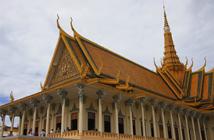 【柬埔寨】大小吴哥、巴戎庙、巴肯山、女皇宫、崩密列、金边大皇宫、国家博物馆双飞5日6日游