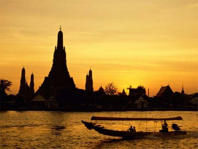 泰国月光岛 月光下的人间仙境