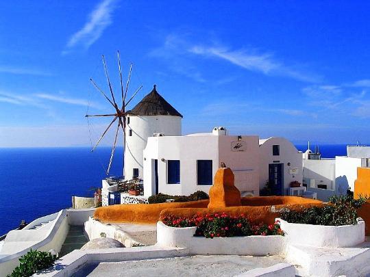 希腊:极致湛蓝 不经意间造就的隽永天堂