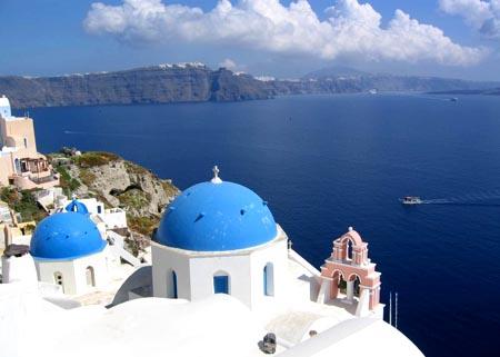 希腊 爱上生活很容易