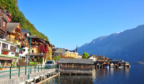 哈尔施塔特 奥地利最古老湖畔小镇