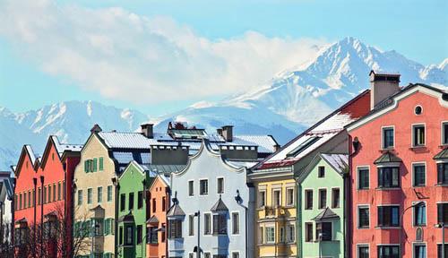 白色圣诞奥地利 体验彩色心情