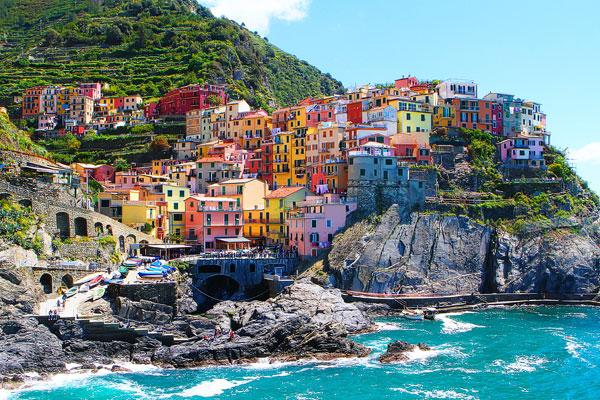 意大利五渔村 让人沉醉不知归路