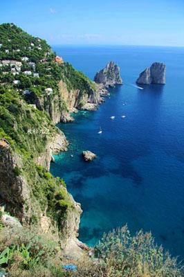 意大利卡普里岛 最佳欧洲私奔海岛