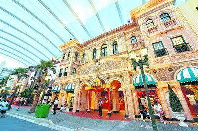 新加坡世界环球影城 一出永不落幕的电影