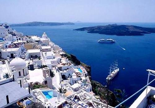 希腊美丽小岛米克诺斯岛Mykonos 让人流连忘返的圣托里尼