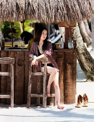海边乌托邦 霍思燕情迷菲律宾巴拉望