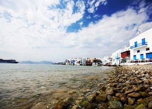 """米克诺斯岛:希腊""""三元色""""天堂"""