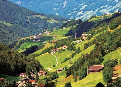 意大利多洛米蒂山区 封面大片的取景地