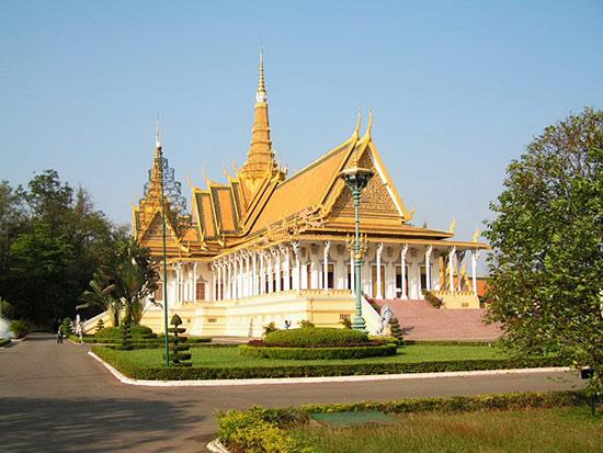 柬埔寨金边 探访四面之城的古老