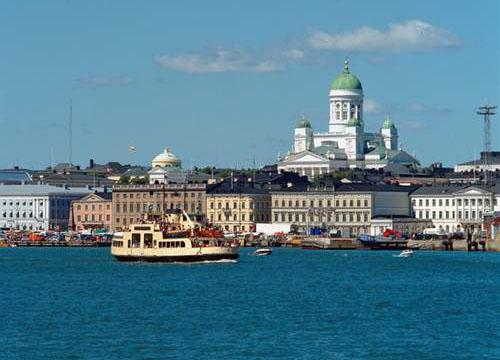 芬兰赫尔辛基 最适合人类居住的城市