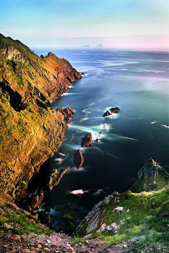 爱尔兰以西 双岛探险记