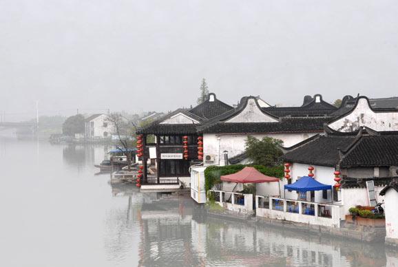 上海朱家角的小味道 漫游古镇咖啡馆