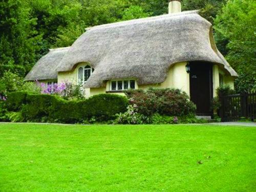 """去英国寻找""""老房子"""" 茅草屋是英国国宝"""