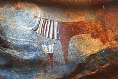 铭刻在石头上的古老艺术:非洲岩画
