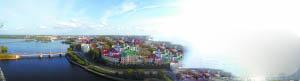 魅力斯拉夫 俄罗斯维堡水绕北欧式小城