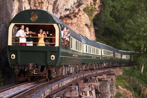 乘坐亚洲东方快车穿梭东南亚各地