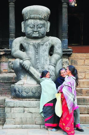神秘的尼泊尔 奇特的民俗及文化
