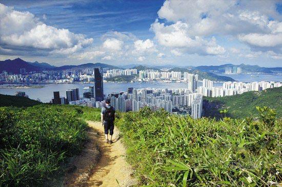 游走阡陌中的香港 在香港的淳朴风光中行走
