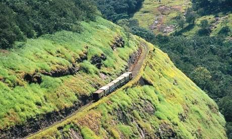 坐火车游印度六城镇