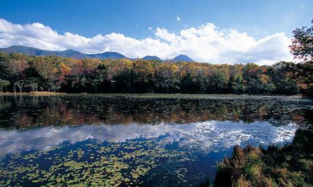 世界自然遗产知床本岛  冬天的北海道