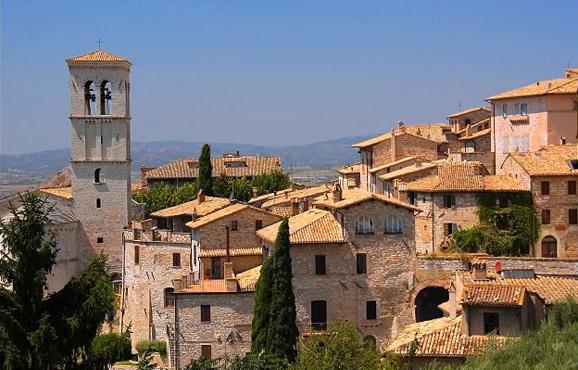 淡淡圣吉米那诺风景 浓浓中世纪风情