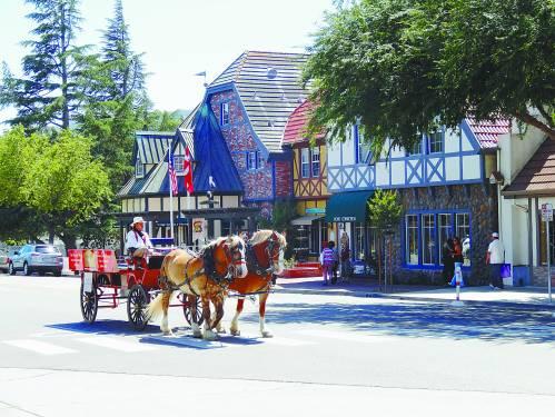 加州的丹麦小镇—索尔文