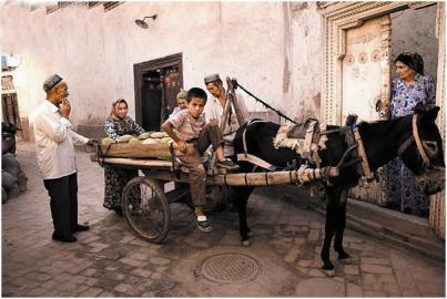 自驾享乐趣 在喀什简单度日轻松生活