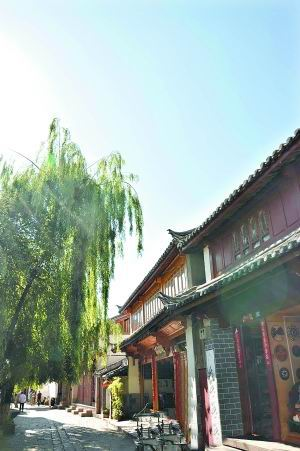 """""""心中的古镇""""丽江 梦里与君同"""
