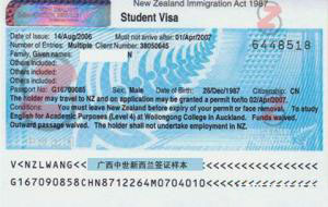 新西兰探亲访友签证