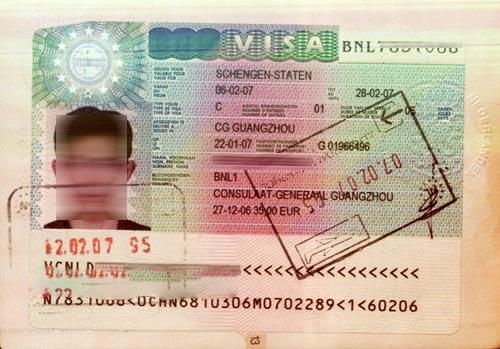 比利时探亲访友签证