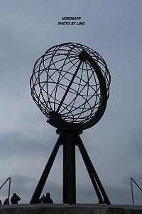 北角的地球仪雕塑