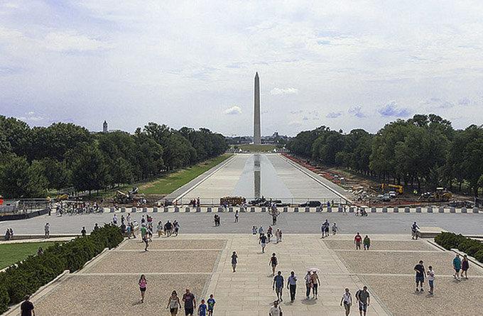 华盛顿景点:美国国家广场
