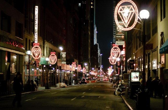 纽约景点:钻石区