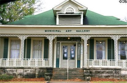 密西西比州杰克逊景点:市立美术馆
