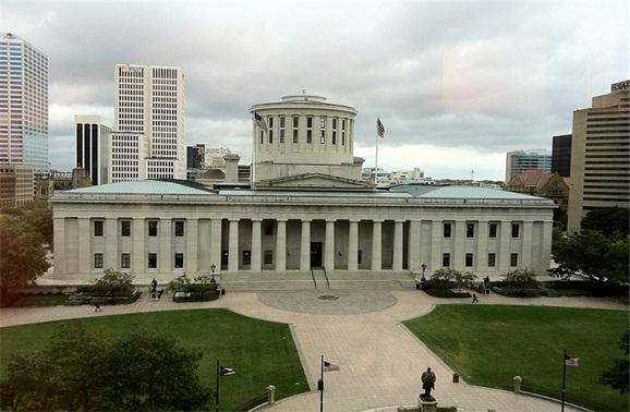 俄亥俄州哥伦布景点:俄亥俄州州议会大厦