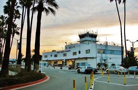 洛杉矶景点:长滩国际机场