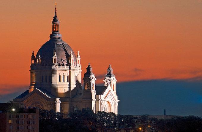 明尼苏达州圣保罗景点:圣保罗大教堂