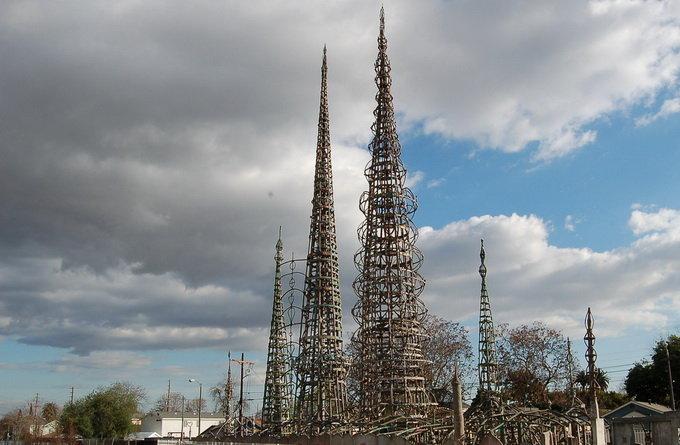 洛杉矶景点:华兹塔