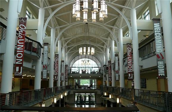 俄亥俄州哥伦布景点:俄亥俄州立大学
