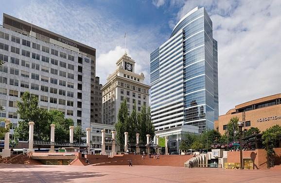 俄勒冈州波特兰景点:开拓者广场
