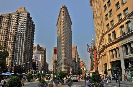 纽约景点:熨斗大厦