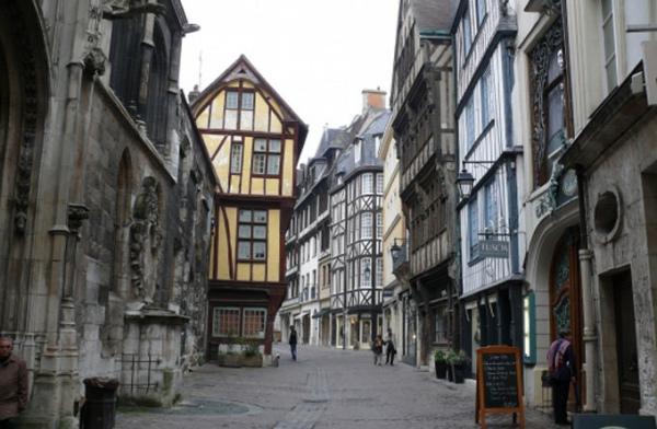鲁昂老城区_鲁昂_法国