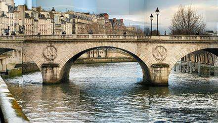 圣米歇尔桥旅游