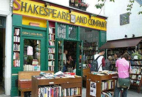 莎士比亚书店旅游