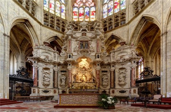 图卢兹圣斯德望主教座堂_图卢兹_法国