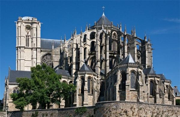 圣朱利安大教堂_勒芒_法国