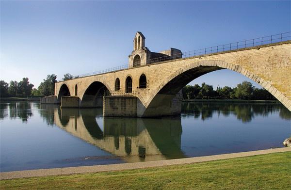 圣贝内泽桥(断桥)_阿维尼翁_法国