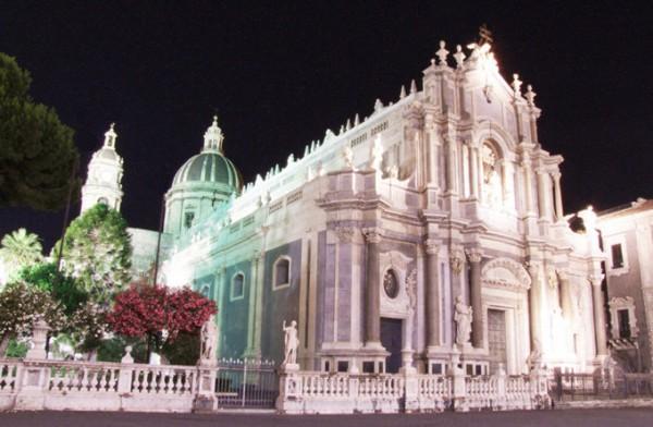 大教堂广场和圣阿加塔大教堂 _卡塔尼亚_意大利